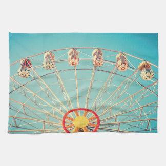 Ferris Wheel Dish Towel