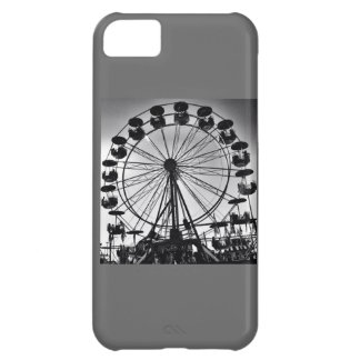 Ferris Wheel in Black and White Photo Gifts iPhone 5C Covers