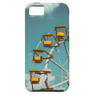 Ferris Wheel In Fun Park On Blue Sky iPhone 5 Case