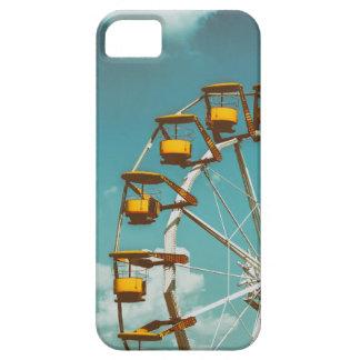 Ferris Wheel In Fun Park On Blue Sky iPhone 5 Cover