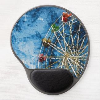 Ferris Wheel in Santa Cruz California Gel Mouse Pad