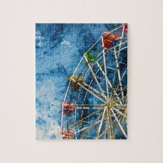 Ferris Wheel in Santa Cruz California Jigsaw Puzzle