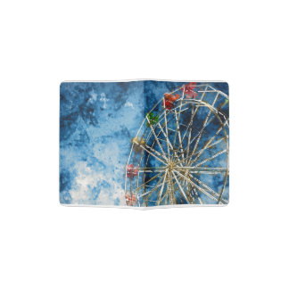 Ferris Wheel in Santa Cruz California Passport Holder