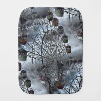 Ferris Wheel in the Clouds Burp Cloth