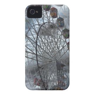 Ferris Wheel in the Clouds iPhone 4 Case