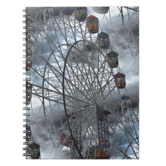Ferris Wheel in the Clouds Notebook