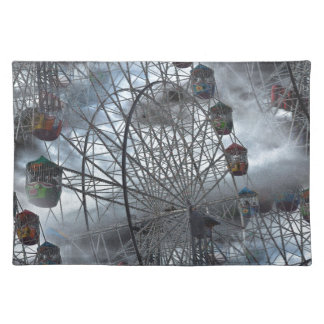 Ferris Wheel in the Clouds Placemat