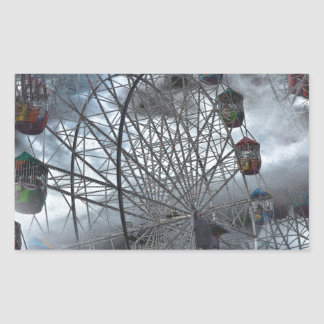 Ferris Wheel in the Clouds Sticker