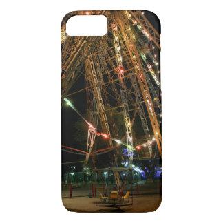 Ferris Wheel in Turkmenistan: Cool Vintage Photo iPhone 7 Case