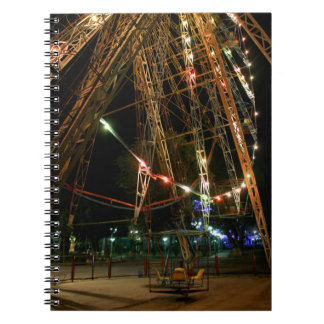 Ferris Wheel in Turkmenistan: Cool Vintage Photo Notebook