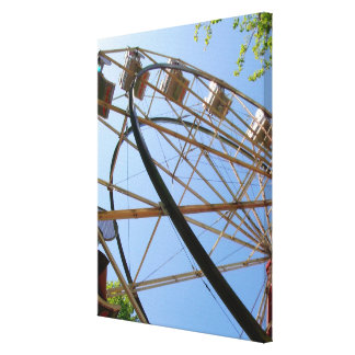 Ferris Wheel on Canvas