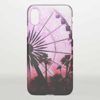 Ferris Wheel (Pink) iPhone X Clearly™ Case