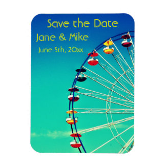 Ferris Wheel Save the Date Magnet