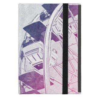 Ferris Wheel Watercolor iPad Mini Case