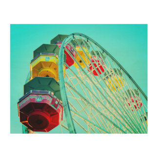Ferris Wheel Wood Wall Art