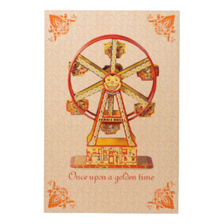 Ferris Wheel Wood Wall Decor