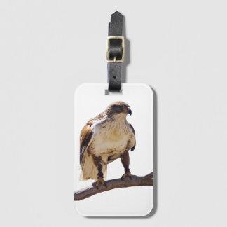 Ferruginous Hawk luggage tag
