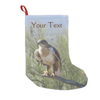 Ferruginous Hawk Small Christmas Stocking
