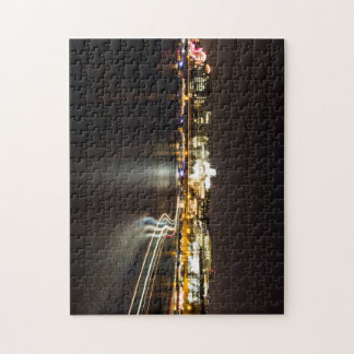 Ferry at night jigsaw puzzle