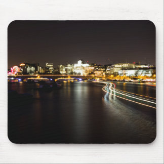 Ferry at night mouse pad