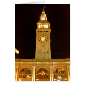 Ferry Building Greeting Card