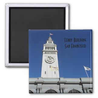 Ferry Building- San Francisco Square Magnet