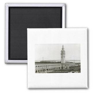 Ferry Building, San Francisco Vintage Magnet