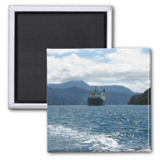 Ferry Crossing Cook Strait Magnet