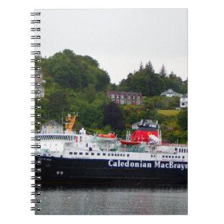 Ferry, Oban, western Scotland Notebook