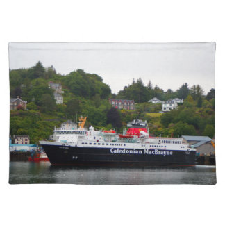 Ferry, Oban, western Scotland Placemat