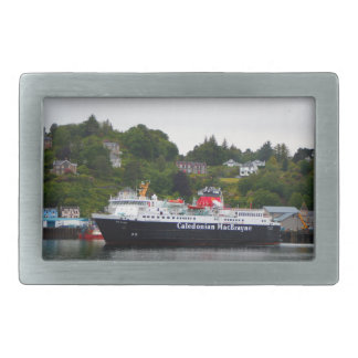 Ferry, Oban, western Scotland Rectangular Belt Buckles