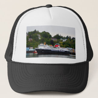 Ferry, Oban, western Scotland Trucker Hat