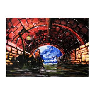 Ferryman - Solace Park Acrylic Wall Art