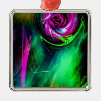 fertile imagination 3 Silver-Colored square ornament