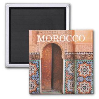 fes door morocco magnet
