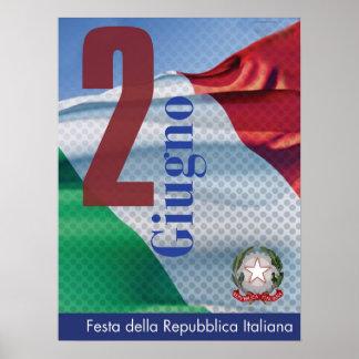 Festa della Repubblica Italiana Poster