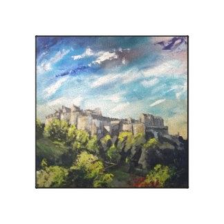 Festival Castle Canvas Print