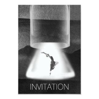 Festival Concert Ballet Urban Black Gray Silver Card