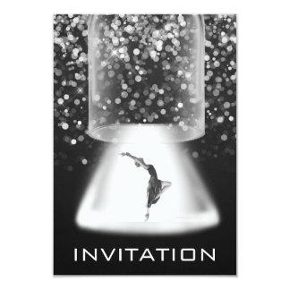 Festival Dance Ballet Urban Lights  Black White Card