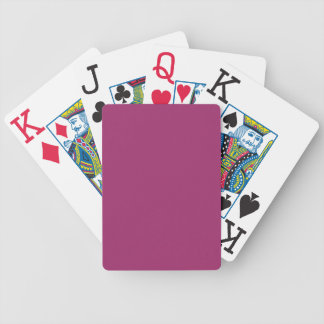Festival Fuchsia Bicycle Playing Cards