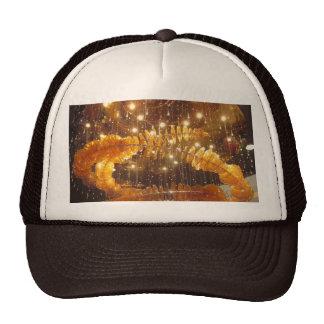FESTIVAL Golden Sparkle Deco Casino Resorts Hotels Mesh Hat