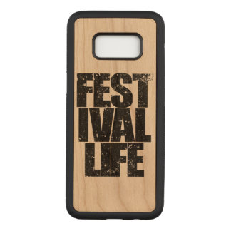FESTIVAL LIFE (blk) Carved Samsung Galaxy S8 Case
