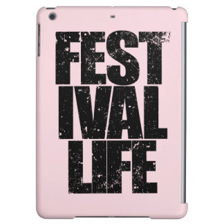 FESTIVAL LIFE (blk) Cover For iPad Air