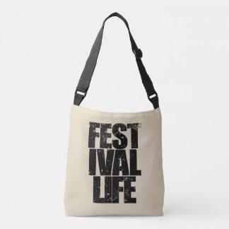 FESTIVAL LIFE (blk) Crossbody Bag