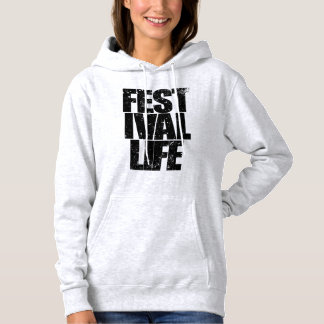FESTIVAL LIFE (blk) Hoodie