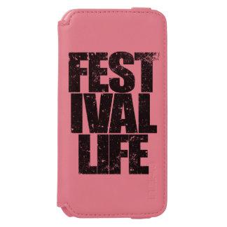 FESTIVAL LIFE (blk) Incipio Watson™ iPhone 6 Wallet Case