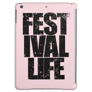 FESTIVAL LIFE (blk) iPad Air Cover