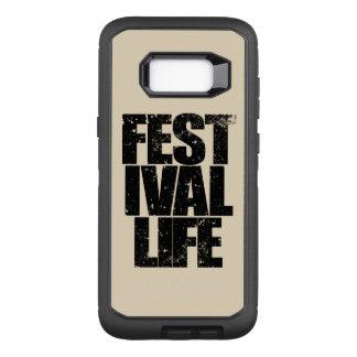 FESTIVAL LIFE (blk) OtterBox Defender Samsung Galaxy S8+ Case
