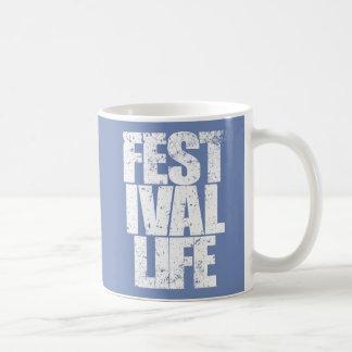 FESTIVAL LIFE (wht) Coffee Mug