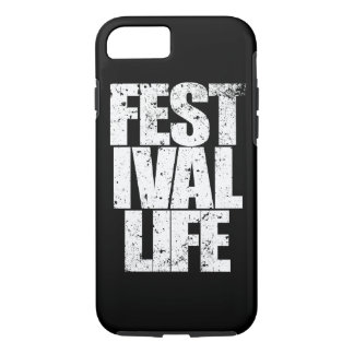 FESTIVAL LIFE (wht) iPhone 8/7 Case